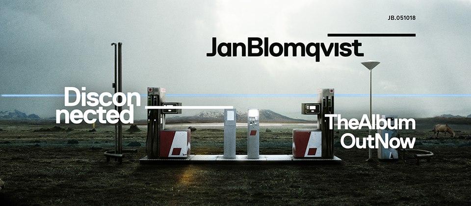 CD Disconnected Jan Blomqvist digipack