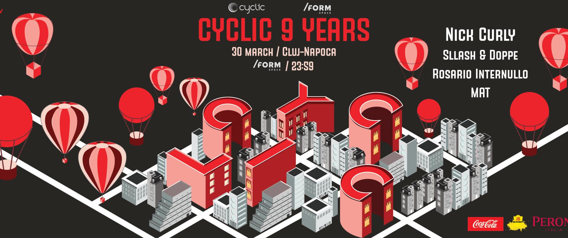 Cyclic 9 Years Anniversary in Cluj-Napoca