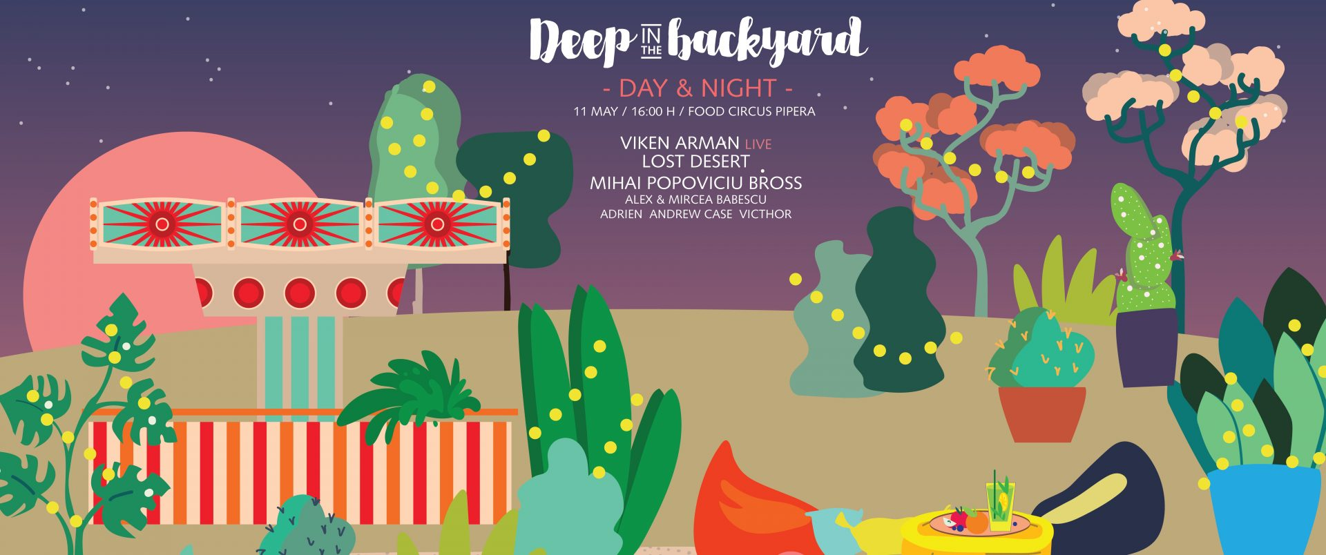Deep in the Backyard with Viken Arman (Live), Lost Desert, Mihai Popoviciu, Bross & more